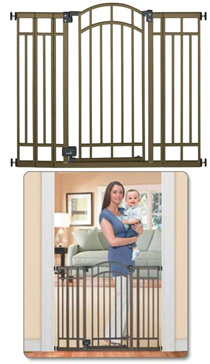 Summer Infant Extra Tall Decorative Walk Thru Gate Home